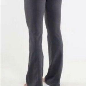 lululemon athletica Pants - Lululemon Groove Flare Leggings - grey